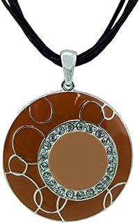 scarlet bijoux–Chaîne avec pendentif en différentes couleurs