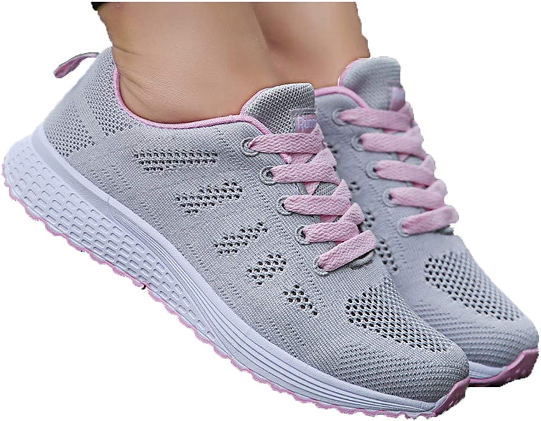Sunly Women Sneakers Ultra Lightweight Mesh Gym Running Walking Tennis shoes