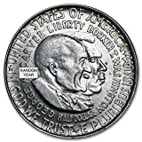 1951-1954 50c About Uncirculated/Brilliant Uncirculated Washington-Carver Commemorative Half Dollar(Random Dates and Mint Marks)