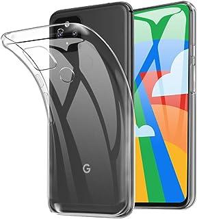 SHINEZONE Google Pixel 5 ケース Google Pixel 5 ソフトカバー 透明 TPU 耐衝撃 落下防止 防指紋 全面保護カバー(クリア)
