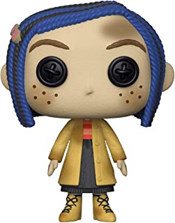 Funko Pop Movies: Coraline - Coraline As A Doll Collectible Figure, Multicolor