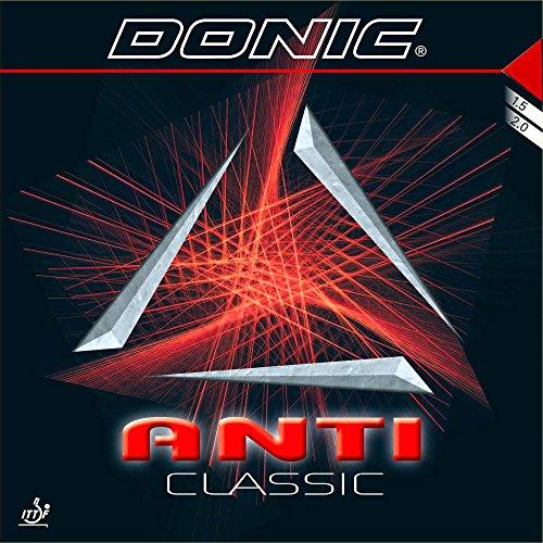 DONIC Belag Anti Classic (Anti) Optionen 1,5 mm, schwarz