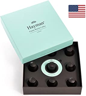 100% Hawaii Kona coffee in Nespresso pods - One of the world's best coffees, freshly roasted for you on shipment day! (Box with 9 pods)