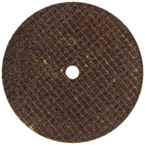 Falcon A24TBE Extra Tough Resinoid Bonded Double Reinforced Grinding and Snagging Abrasive Cut-off Wheel, Type 1, Aluminum Oxide, 1/4