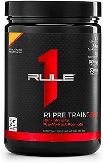 Rule 1 Proteins R1 Pre Train 2.0 25 Serv Peach Mango, 390g