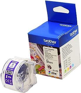 【brother純正】感熱カラーラベルプリンター用ロールカセット CZ-1001 (幅9mm/長さ5m) 対応型番:VC-500W