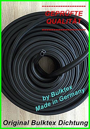 Original Bulktex® Fenstergummi Scheibengummi Dichtprofil Dichtung für Schlepper Traktor 4mm 5mm 6mm