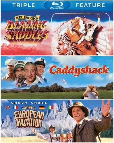 Blazing Saddles / Caddyshack / National Lampoon's [Blu-ray]