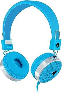 Rockpapa 878 On Ear Love Hearts Headphones Foldable, Adjustable Headband for iPod iPhone iPad Mini iPad Air, Surface, Smar...