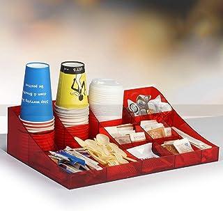 XJZKA Café Condiment Organisateur Rangement de Cuisine Bo Made & ndash;Contenant de Stockage pour contenir Le Sucre, Le s...