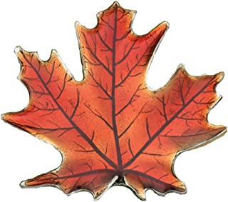 Maple Leaf/Autumn Brooch Pin - Pewter - 1 3/4 Inches -...