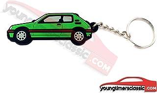 youngtimersclassic Peugeot Llavero 205 GTI Suave PVC - Verde