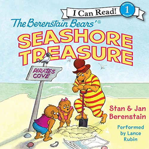 The Berenstain Bears' Seashore Treasure audiobook cover art