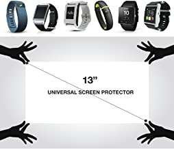 """RED SHIELD Universal Screen Protector 13"""" for Tablet, Smartphone, and More. Ultra-Thin High Definition Crystal Clear Anti-..."""