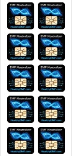 EMF Protection for Cell Phone Radiation Neutralizers + Free $45 Voucher for 3 EMF Radiation Neutralizer Buttons - Slim Design - 100% USA Made - 5, 10 or 20 Pack - Doctor Created