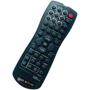 Remote Control for Yamaha RAV247 HTR-5760 RX-V650 RX-V557 YHT-750 RAV252 WE458500 DTX5100 HTR-5860 RX-V657 AV A//V Receiver