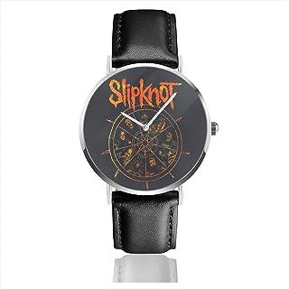 腕時計 メンズ レディース SLIPKNOT THE WHEEL 生活防水 シンプル ミニマリスト 軽量 男性女性用 ガールズ 母の日 ビジネス