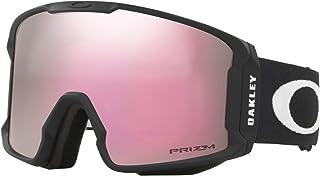 b5c10653c4 Oakley Line Miner Asian Fit Snow Goggle, Matte Black, Large, Prizm Hi Pink