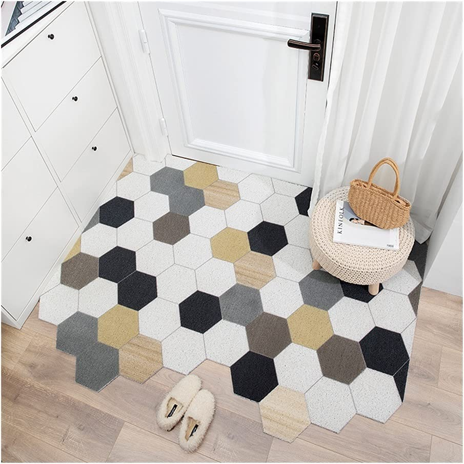 Rug Entrance PVC Kitchen Mat Doormat safety Home Dust-P Carpet Non-Slip Ranking TOP16