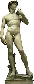 Advanced Graphics Statue of David Life Size Cardboard Cutout Standup - Italy Party Theme