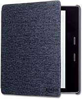 Kindle Oasis Water-Safe Fabric Cover - Charcoal Black (Compatible with 9th and 10th Generation)