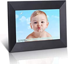 Dhwazz 8 Inch WiFi Digital Photo Frame, IPS Electronic Digital Frame with LCD Touch Screen, 8GB Internal Storage, Wall-Mountable, Display and Share Photos Instantly via Mobile APP