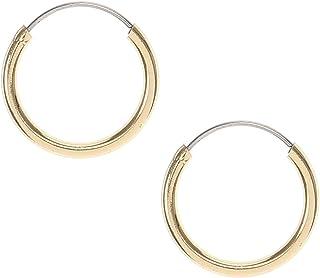 6c8c86434 Claire's Girl's Gold Mini Sleeper Hoop Earrings
