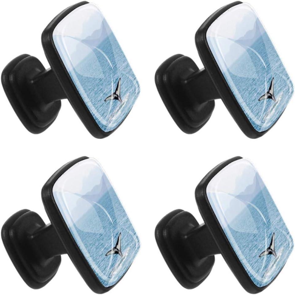 Xingruyun Cabinet knobs 4 pack Seagull Sea Bird Sea wardrobe knobs shaped dresser knobs for jewelry box 1.18x0.82x0.78 in