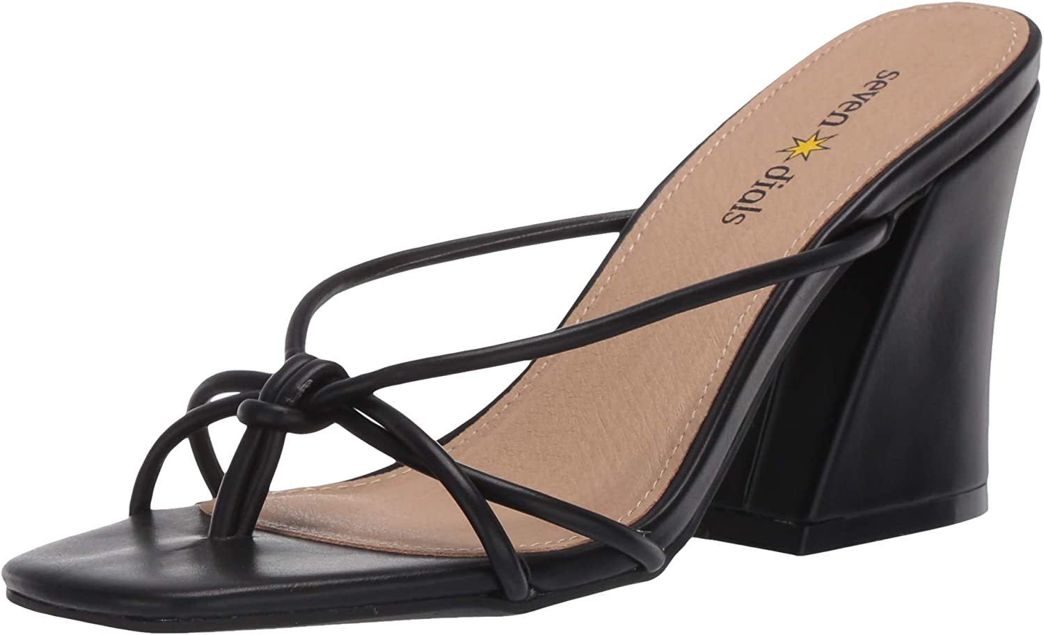 Over item handling ☆ Super beauty product restock quality top SEVEN DIALS Women's Heeled Chester Sandal
