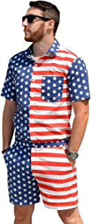 Best red white and blue male romper Reviews