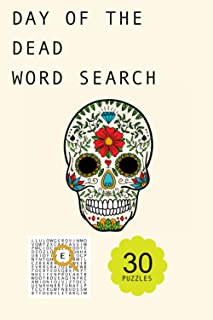 Day Of The Dead word search puzzle book: undefined