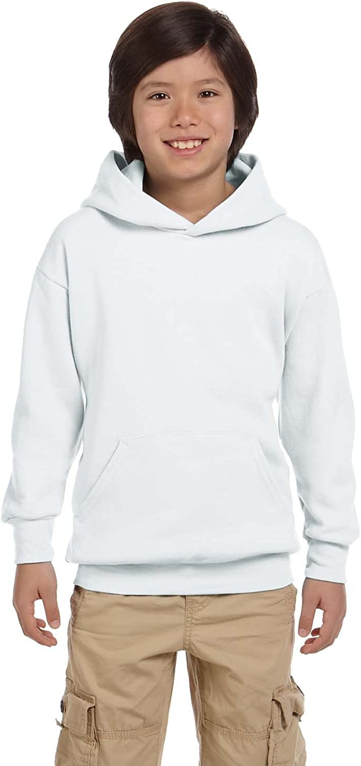 Pullover Hoodie (P473) White, S