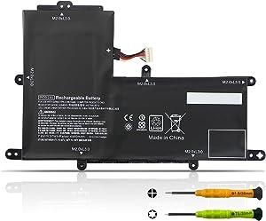 TIIANTE 37Wh PO02XL Laptop Battery for HP Stream 11-R 11-R000 11-R010NR 11-R014WM 11-R015WM 11-R015WN Pro G2 G3 Series 823908-1C1 823908-2C1 824560-005 HSTNN-DB7G HSTNN-IB7G TPN-Q166 7.6V 4960mAh