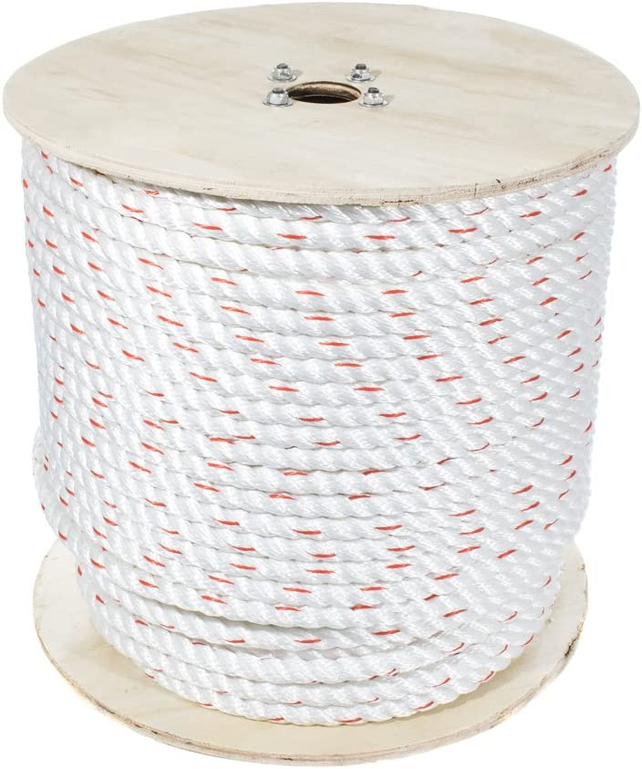 Poly Dacron Columbus Mall Rope 5 8 Inch Fort Worth Mall 100 Ma - 3 Line Strand Twisted Feet