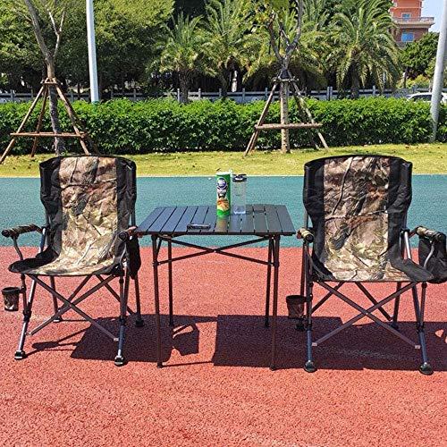 Mesa de picnic al aire libre Mesa de barbacoa plegable al aire...