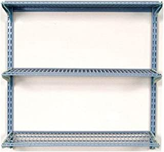 Triton Products 1795 Storability 34-Inch Length by 32-Inch Height Wall Mount Shelving Unit with 3-Wire Shelves