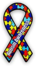 Small Autism Ribbon Magnets (Wholesale Pack - 24 Magnets)