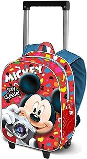 Mickey Mouse Say Cheese-Mochila Basic con Carro