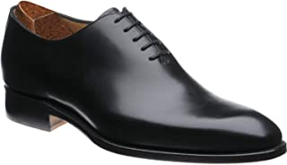 Costoso Italiano Black Leather Formal Wholecut Dress Shoes for Men