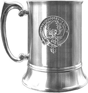 Ross Scottish Clan Crest Pewter Badge Tankard