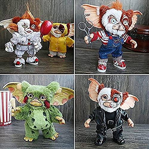 KDDEON 2021 New Mogwai Handmade Doll-Mogwai Gizmo, Cute Gremlins Monster Plush Doll, Miniatura de Fieltro Gizmo Art Creature, para los Amantes de Las muñecas coleccionables de decoración del hogar