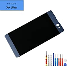 For SONY Xperia C6 XA Ultra F3212 F3211 F3216 F3215 F3213 Replacement LCD Touch Screen Display Digitizer Assembly Black + Tools