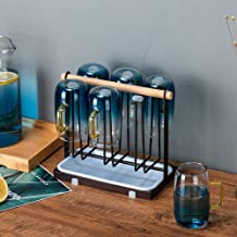 High quality portable glass cup holder Tea coffee cup drying rack stand mug holder for kitchen Supplies home organizer