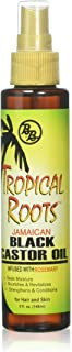 Bronner Brothers Tropical Roots Black Castor, OIL Rosemary, 5 Fl Ounce