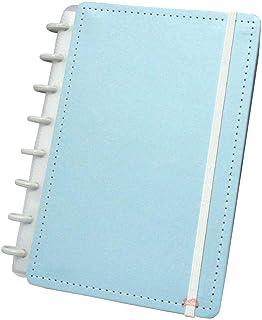 Caderno A-5 Tons Pastéis Azul com 80 Folhas Caderno Inteligente
