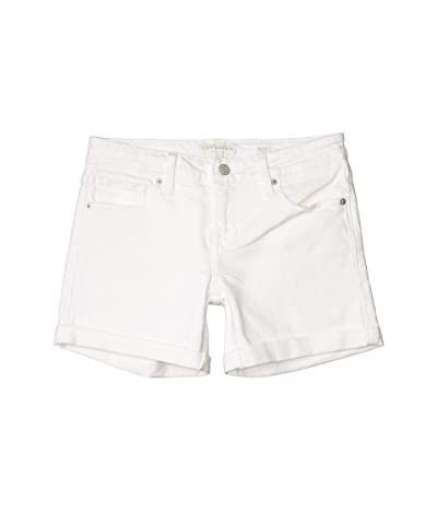 Lucky Brand Mid-Rise Roll Up Shorts in Clean White (Clean White) Women