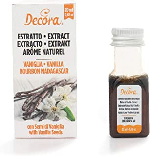 Decora Extracto Natural De Vainilla Bourbon Madagascar 20 ml
