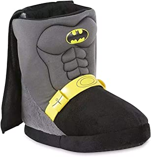Favorite Characters DC Batman Boys Boot Slippers Toddler/Little Kid