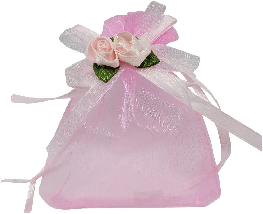 Ankirol OFFicial 50pcs Sheer Organza Sales of SALE items from new works Favor for Gif Wedding 3.8x4.8'' Bags