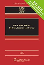 Civil Procedure: Doctrine, Practice, and Content [Connected Casebook] (Aspen Casebook)